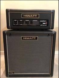Set Hiwatt B300 HD de 300w caixa e cabeçote originais