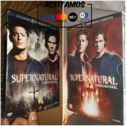 Sobrenatural Temporada 4 e 5 Completas