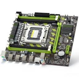 Placa mãe x79  e processador Xeon E5 2620 v2  500