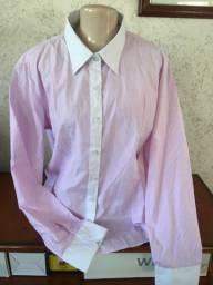 Camisas femininas manga cumprida- várias cores e modelos - tamanho M-G