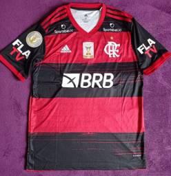Camisa do Flamengo Brasileirão 2020 R.Caio (disponível: G)