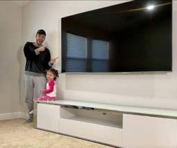 Smart Tv NOVA Samsung 75 polegadas 4k tela Crystal UHD Menor Preço da Olx