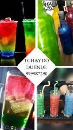 Tchay e vodka 3d