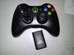 Controle Xbox 360 Original + Bateria 4800 Mah + Headset