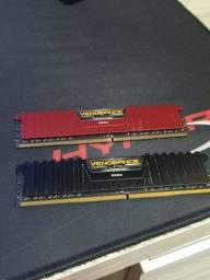 Memoria Ram - Corsair Vengeance 16gb DDR4 2400Mhz - 2 x 8gb