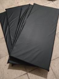 Colchonete Abdominal para Ginástica R$ 30,00 medida: 0,90 X 0,40 X 0,03 cm, Produto novo