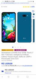 Celular K40s azul