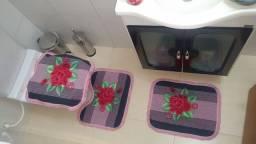 Kit tapete para banheiro