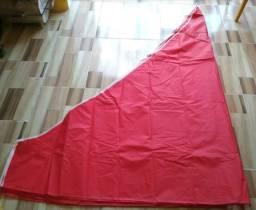 Lona para tenda sanfonada vulcanizada bagum aceito cartão zap *