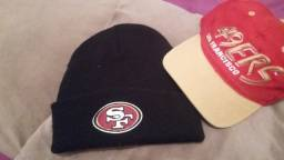 Go Niners - Bone e touca SF49ers
