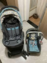 Carrinho de bebê GRACO e bebê conforto