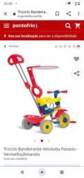 Triciclo de Bebê para passeio - Semi novo