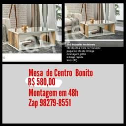 Mesa de Centro Bonito /Montagem em 48h.