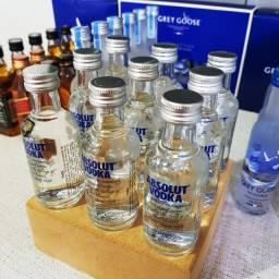Miniatura Vodka Absolut Sueca 50ml - Original e Lacrada