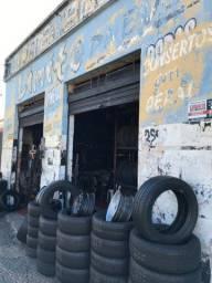 Vendo borracharia c/ lojinha de pneus