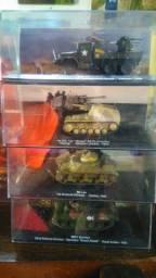 4 Tanques 1:72 de coleção por 200