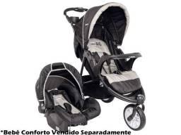 Carrinho Travel System + Bebe Conforto Fox Cappuccino - Kiddo