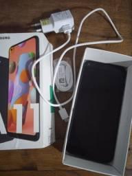 Samsung A 11 novo usado 10 dias