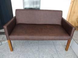 sofá namoradeira novo
