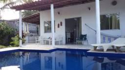 Porto Seguro, casa 3 quartos, 10 pessoas, 1.000m da praia,ar cond.,piscina, churrasqueira
