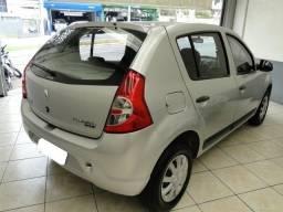 Renault Sandero expression 1.0 prata 82572km