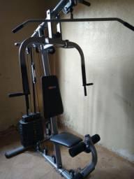 Estação de musculação Life Zone de 23 exercícios,