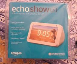 Echo Show 5 3ª Geração Smart Speaker com Alexa<br>Produto Novo<br>