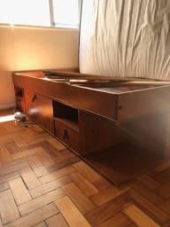 Cama casal bali meu móvel de madeira R$ 1.100,00