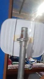 Antena para Internet via rádio.