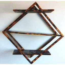 Floreira Triangular feita no Maçarico