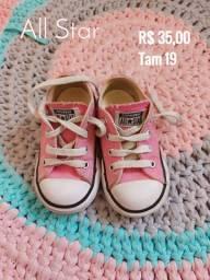 Sapatos para bebês menina
