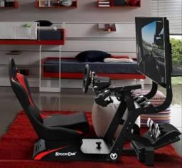 Cockpit Stockcar + Suporte pra TV e CPU