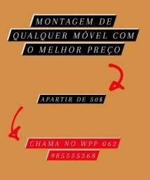 Jaqueta SERVIÇO DE MONTADORES