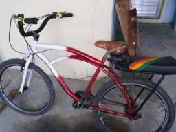 Bike caiçara com detalhe na roda 200 reais
