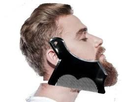 Pente Barba Régua Modelador Alinhador Novo Transparente