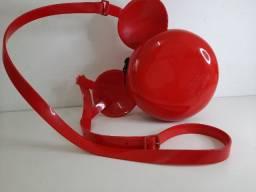 Bolsa Melissa Ball Bag Mickey Vermelha Em Perfeito Estado