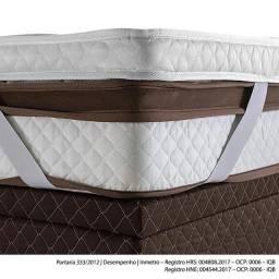 Pillow Top Avulso Herval com elástico, Queen 158 x 198 cm e 9cm altura