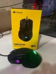 Mouse Corsair IronClaw RGB 7 botões 18000 DPI