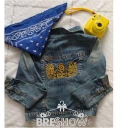 Jaqueta jeans Tamanho:M R$ 18,00