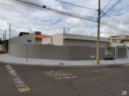 Casa para Venda em Olímpia, Vivenda Cote Gil, 3 dormitórios, 1 suíte, 2 banheiros, 2 vagas
