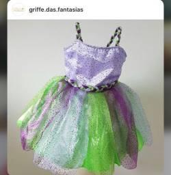Fantasia Ariel semi nova