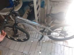 Vendo Bike Aro 26 Quadro De Alumínio Leia A Descrição