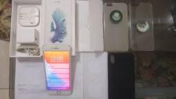 Apple iphone 6s plus 16gb muito novo