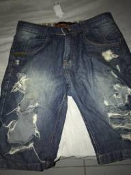 Bermuda Jeans Número 38