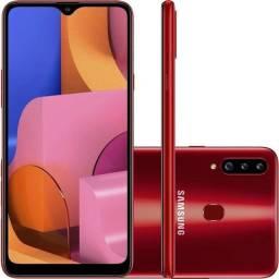 Samsung A 20s Vermelho