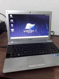 Notebook Samsung RV411-Core i3 2GB HD500 Zerado !