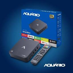 Tv box Aquário STV-2000 padrão 4K 8GB