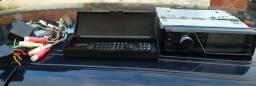 Rádio Dvd Player Automotivo Pioneer Dvh-7380av - Funcionando 100%