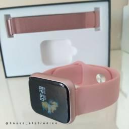 Relogio Smartwatch P70 Rose (em até 10 vezes sem juros)
