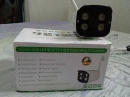 Câmera IP infra vermerlho wifi